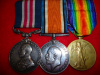 WW1 Military Medal & Pair to 29th Bn. (British Columbia), CEF.