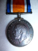 WW1 Single British War Medal to 222nd Can. Inf. - Scarce unit