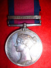 Military General Service Medal 1793-1814, (1) clasp, Guadaloupe to 15th Foot (East Yorkshire Regiment)