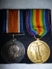 WW1 Casualty Medals Pair to 14th Bn (Montreal, Quebec), Parry, from Liverpool