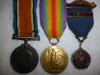 WW1 Pair with Legion Medal to 19th Bn. (Toronto) Canadian Infantry