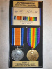 WW1 Casualty Medal Pair to Wells, 5th Canadian Infantry, Killed at Hill 70.