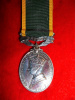 Efficiency Medal, George VI, IND: IMP: type, scroll suspension CANADA, to  Argyll and Sutherland Hig