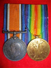 WW1 Medal Pair to a Lieutenant, Canadian Engineers, McGill University OTC