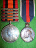 Queen's South Africa 1899-1902 / Coronation Medal Pair to The Canadian Scouts