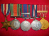 WW2 Canadian Group of (5) with Canadian Forces Decoration and Bar
