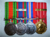 WW2 / Canadian Forces Decoration and Bar Group of (4) to a Bandsman