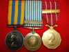Korea / Canadian Forces Decoration Group of (3) Medals to a Major, Royal Canadian Dental Corps