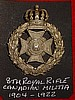 MM54 8th Royal Rifles Cap Badge, 1904-1922