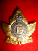 MM92 - 19th St. Catherine's Regiment Officer's Cap Badge