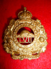 MM172 - 57th Regiment (Peterborough Rangers) Cap Badge