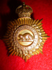 MS23 - Canadian Army Service Corps Officer's Muted Gilt Cap Badge
