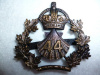 MM144 - 44th Lincoln & Welland Regiment Officer's Bronze Cap Badge c.1910