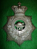 HP202 - 57th Peterborough Rangers Officer's Helmet Plate