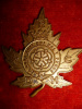 MC27 - The Duke of York's Royal Canadian Hussars  Cap Badge