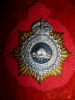 MS21 - Canadian Army Service Corps, Officer's Gilt and Silver Cap Badge