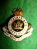 MM92 - 19th St. Catherine's Regiment Officer's Gilt & Enamelled Collar Badge