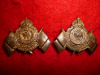 MM84 - 15th Regiment, Argyll Light Infantry Collar Badge Pair