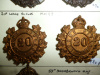 MM97 - 20th Lorne Rifles Matching Pair of Collar Badges
