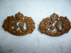 MM226 - 80th Nicolet Regiment Collar Badge Pair