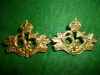 MM195a - 65th Mount Royal Rifles Collar Badge Pair, 1904