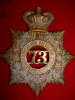 HP241 - 73rd Northumberland Regiment of Infantry QVC Helmet Plate