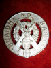 50th Regiment (Gordon Highlanders of Canada), Silver Plated Officer's Glengarry Badge