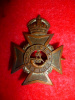 HP128 - 22nd Oxford Rifles 1907-25 Collar Badge