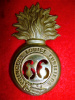 MM197 - 66th (Princess Louise Fusiliers) Busby Fur Cap Grenade