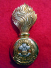 MM22 - 1st Regiment Prince of Wales's Fusiliers Officer's Fur Cap Grenade 1904