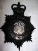 UK - Birmingham City British Police Queen's Crown Helmet Plate