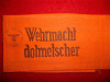 Third Reich Wehrmacht Dolmetscher (Armed Forces Interpreter) Armband