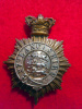 27th (Bolton) Lancashire Rifle Volunteers Victorian Officer's Pouch Belt Badge
